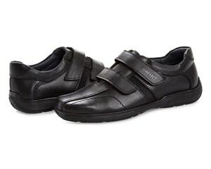 Zapatos Negros Grafito para Niño
