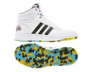 Tenis Adidas Pokémon Hoops Mid 2.0 K Blancos Juveniles