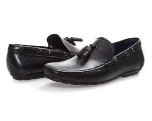 Mocasines Casuales marca Refill color Negro para Hombre