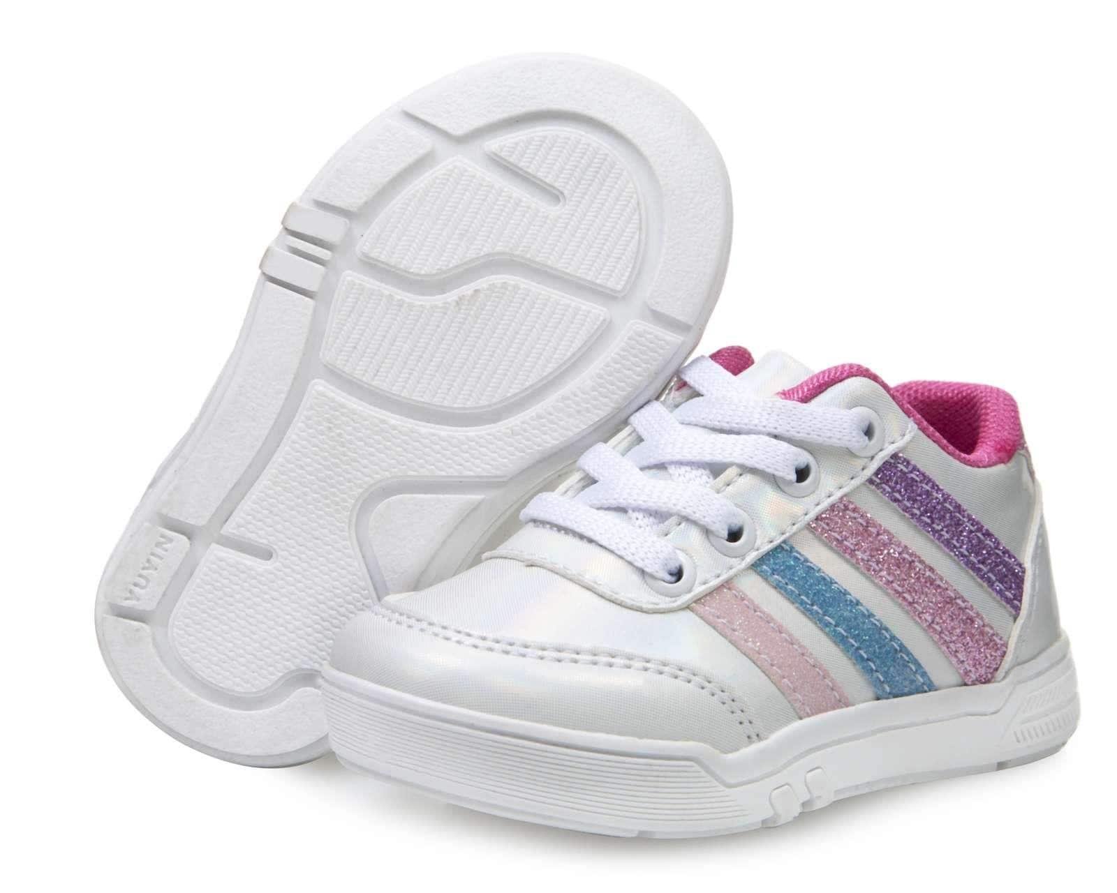 Tenis Blancos marca Baby Colors para Bebé Niña