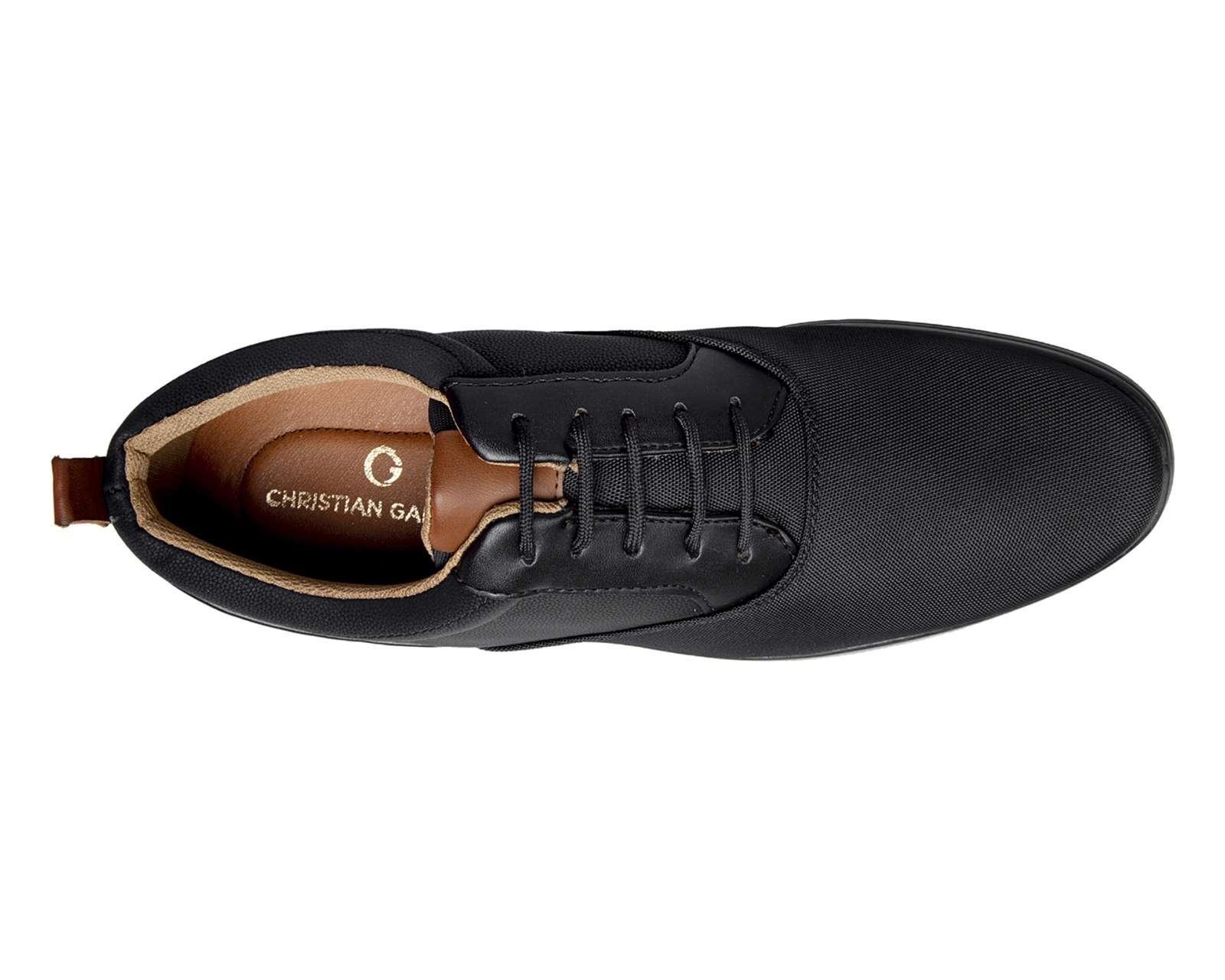 Foto 4 Zapatos Casuales marca Christian Gallery color Negro para Hombre
